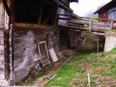 Abbruch alter Gebäude